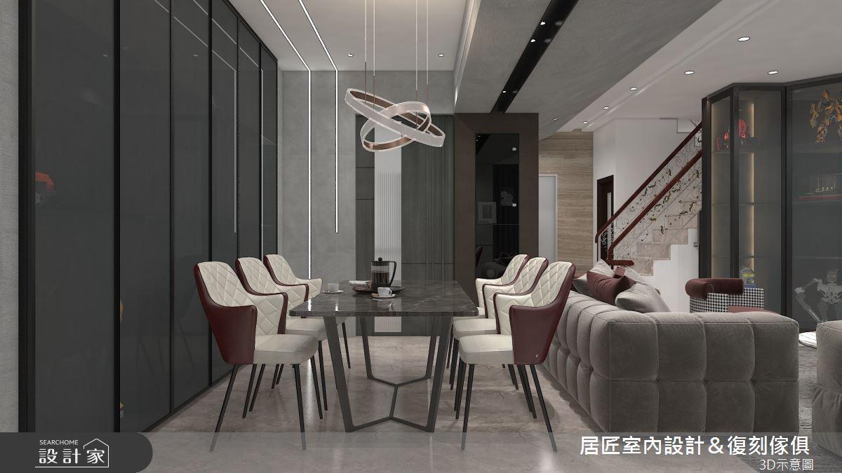 115坪新成屋(5年以下)_現代風餐廳案例圖片_居匠室內設計&復刻傢俱_居匠_27之4