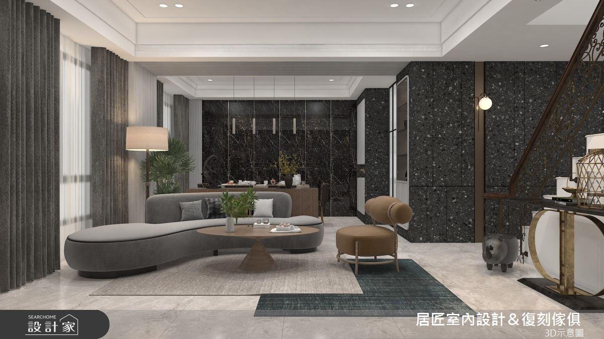 115坪新成屋(5年以下)_現代風案例圖片_居匠室內設計&復刻傢俱_居匠_28之2