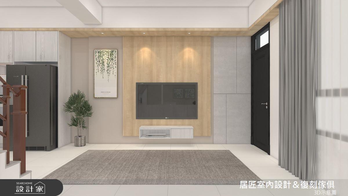 60坪新成屋(5年以下)_混搭風案例圖片_居匠室內設計&復刻傢俱_居匠_30之1