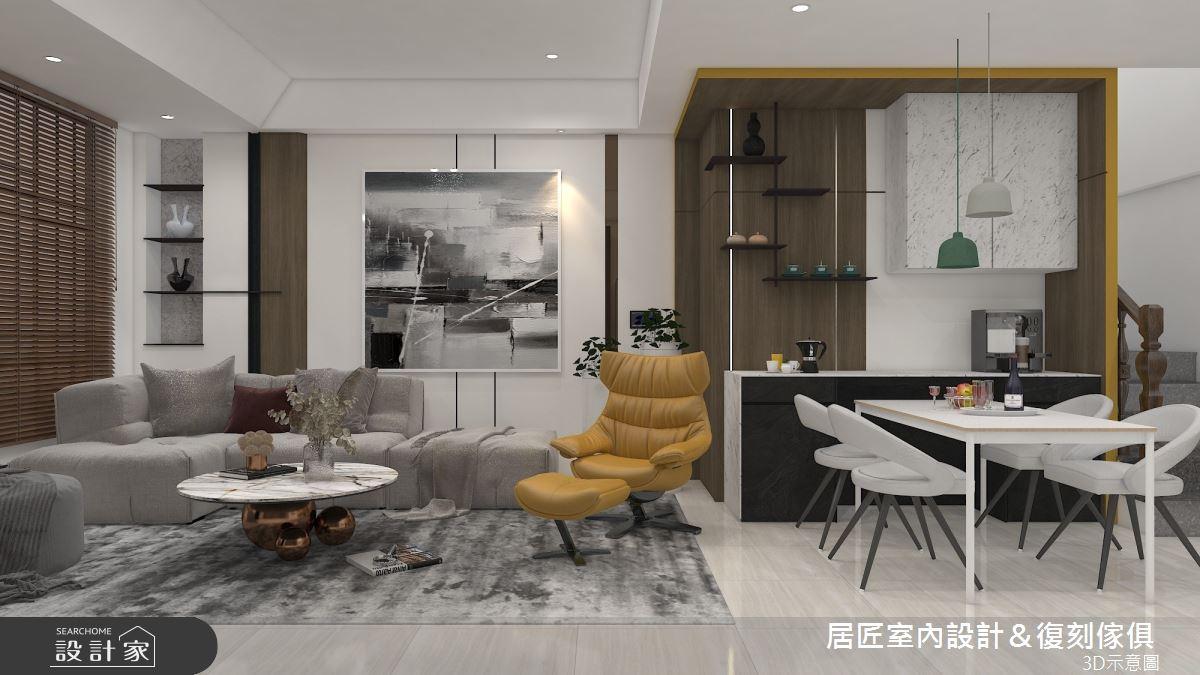 53坪新成屋(5年以下)_混搭風案例圖片_居匠室內設計&復刻傢俱_居匠_31之3