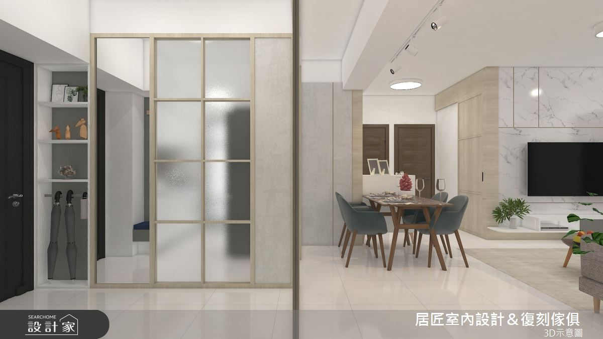 25坪_北歐風案例圖片_居匠室內設計&復刻傢俱_居匠_32之3
