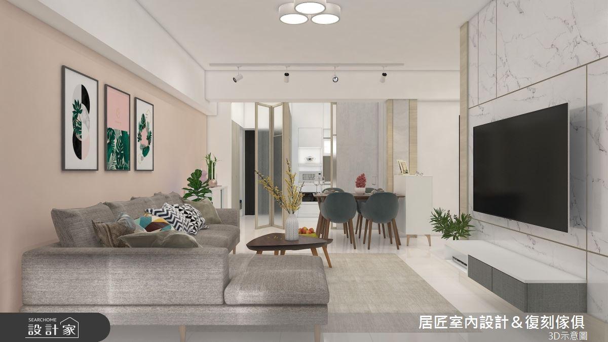 25坪_北歐風案例圖片_居匠室內設計&復刻傢俱_居匠_32之5