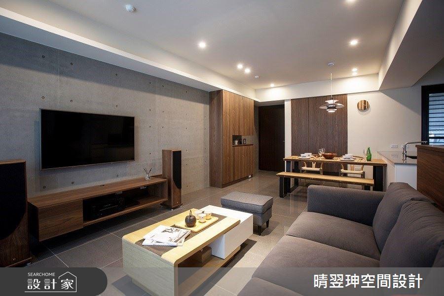新成屋(5年以下)_日式無印風客廳案例圖片_晴翌珅空間設計_晴翌珅_01之2