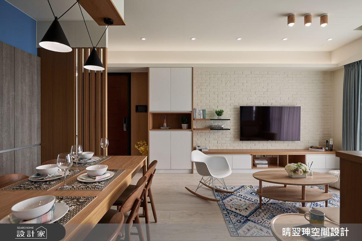 新成屋(5年以下)_北歐風客廳餐廳案例圖片_晴翌珅空間設計_晴翌珅_05之2