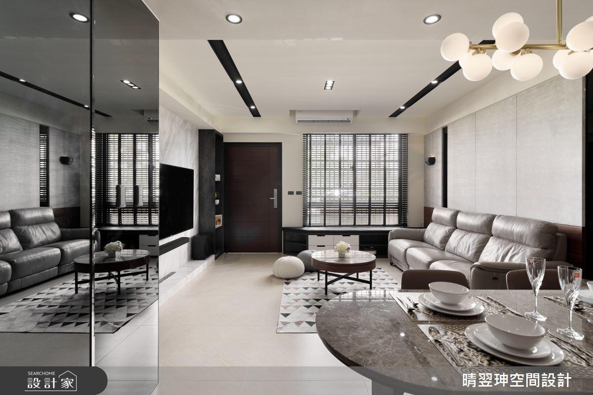 75坪新成屋(5年以下)_現代風案例圖片_晴翌珅空間設計_晴翌珅_10之1