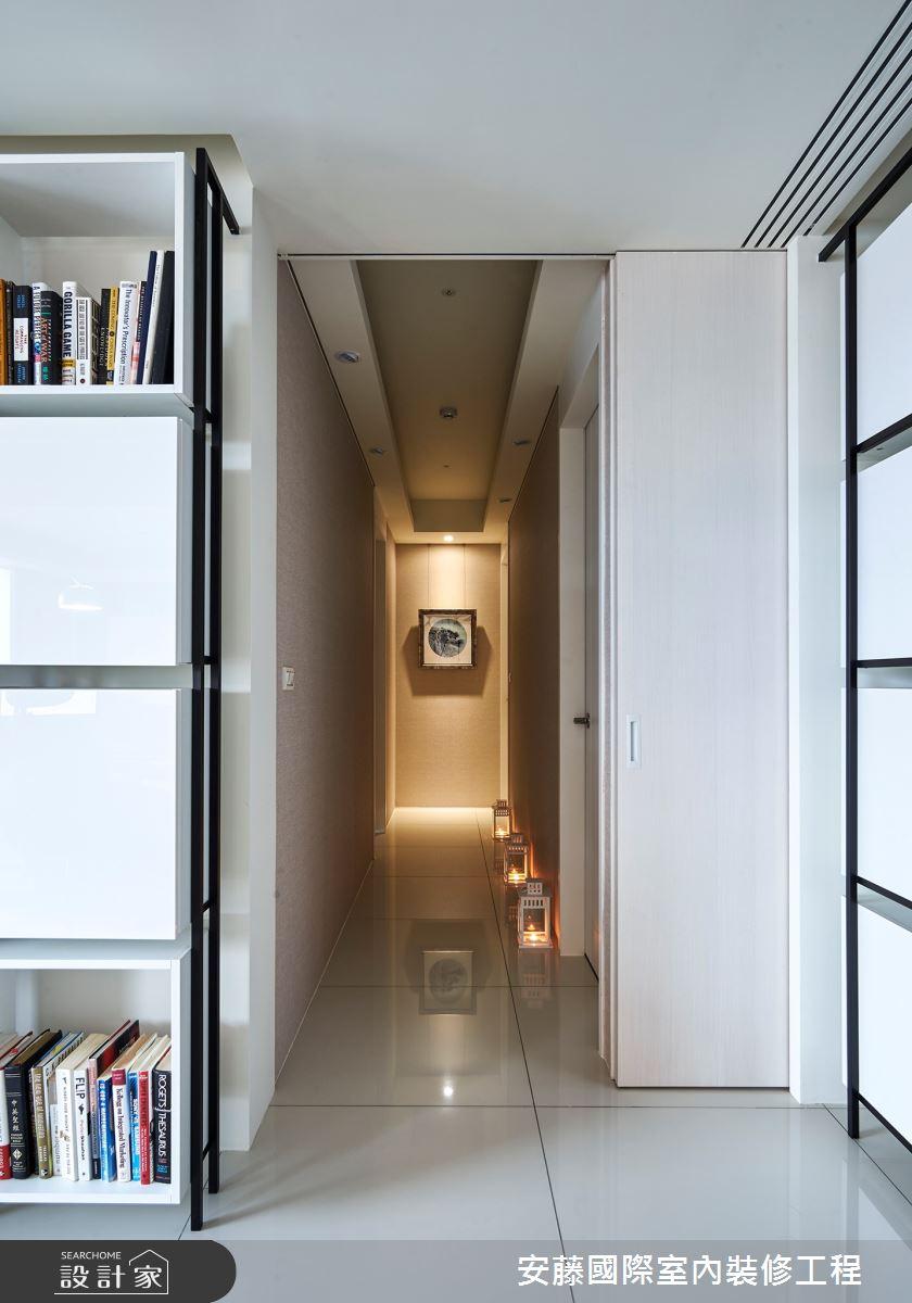 新成屋(5年以下)_現代風走廊案例圖片_安藤國際室內裝修工程有限公司_安藤_11之7