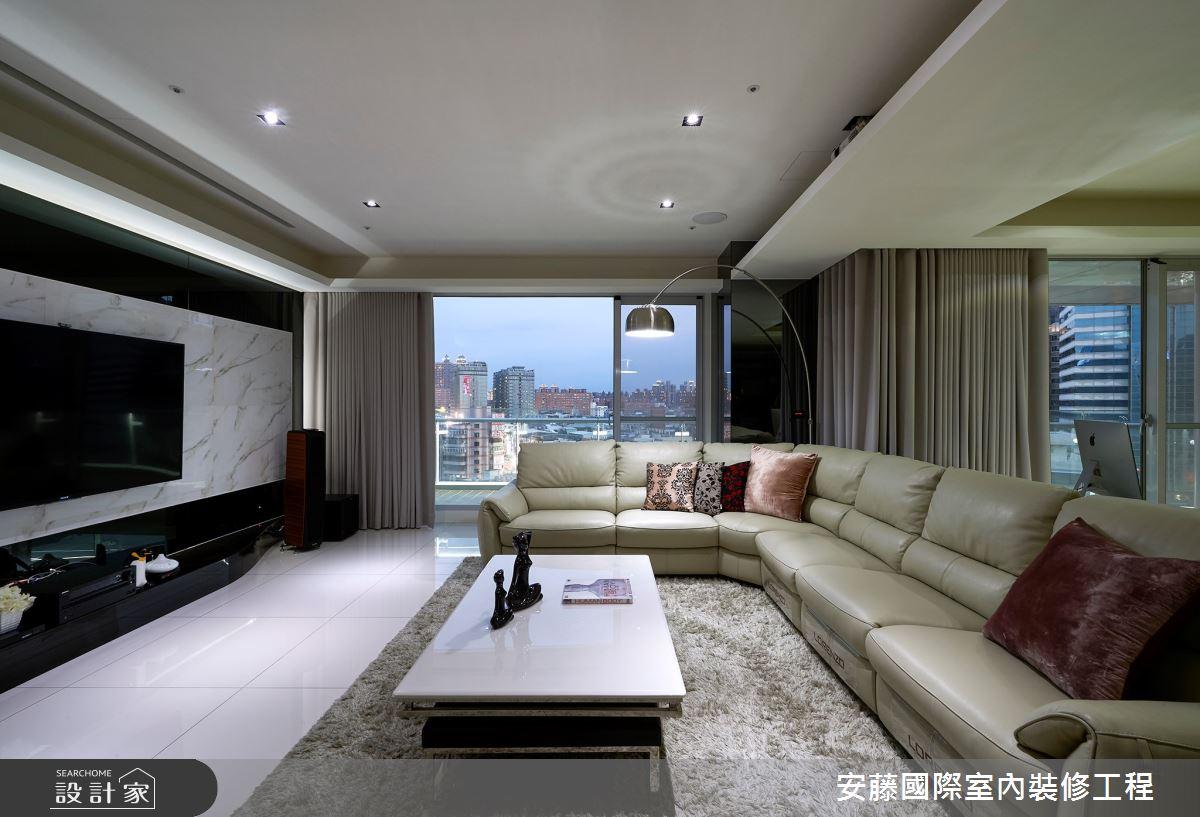 新成屋(5年以下)_現代風客廳案例圖片_安藤國際室內裝修工程有限公司_安藤_11之1