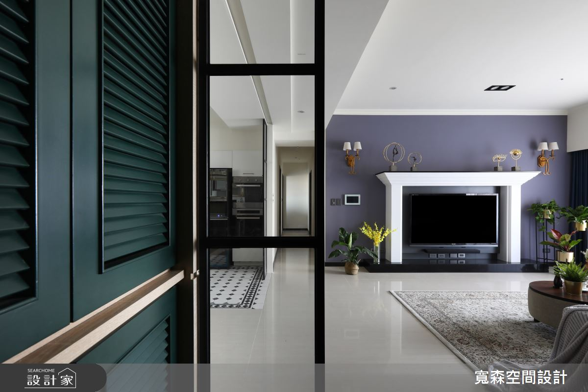 65坪新成屋(5年以下)_法式風玄關案例圖片_寬森空間設計有限公司_寬森_04之2