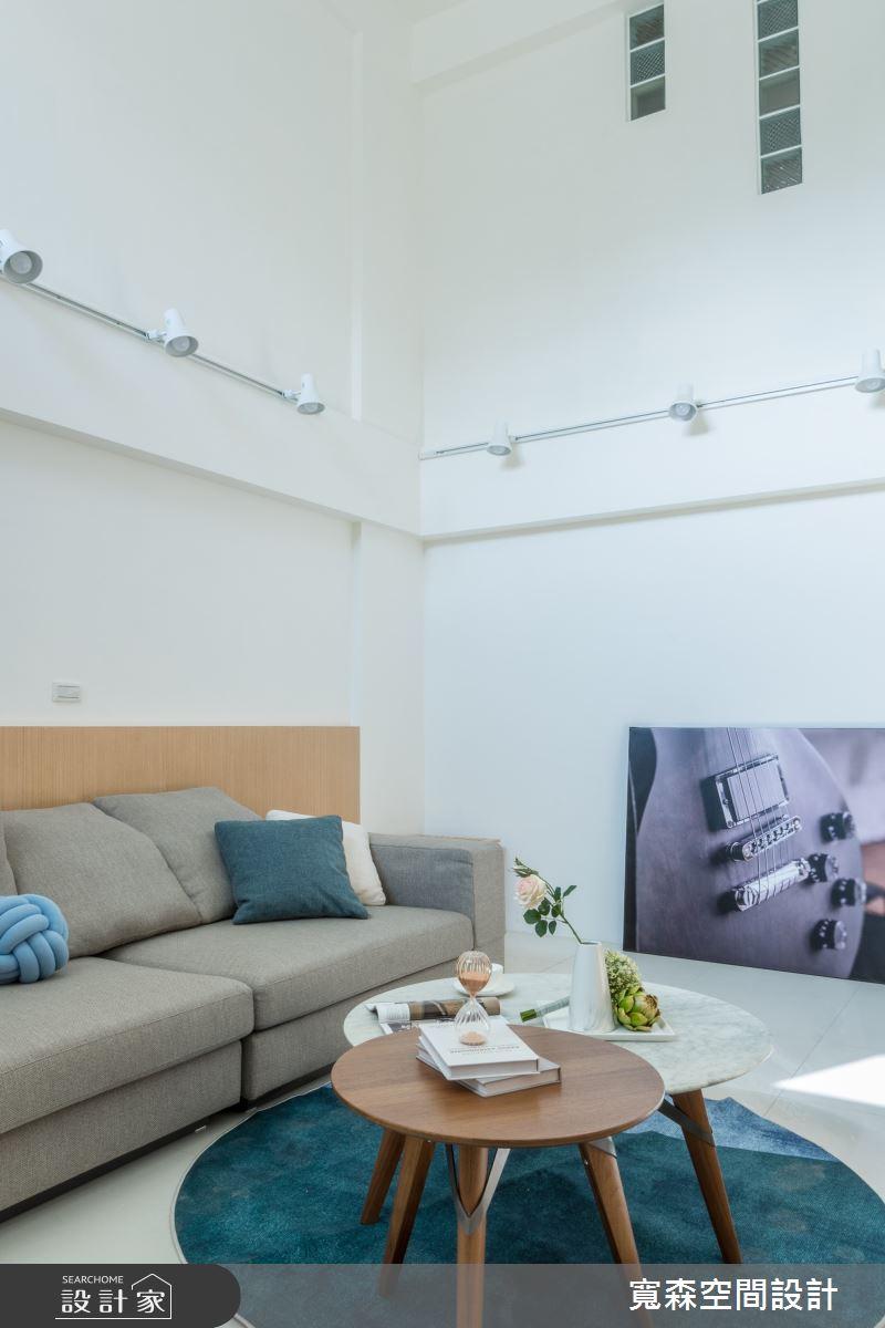 40坪中古屋(5~15年)_日式無印風客廳案例圖片_寬森空間設計有限公司_寬森_09之3