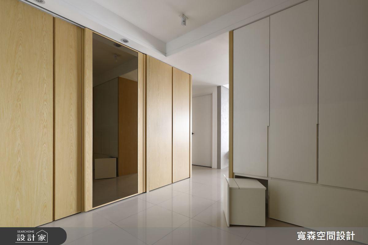 42坪新成屋(5年以下)_現代風玄關案例圖片_寬森空間設計有限公司_寬森_12之2