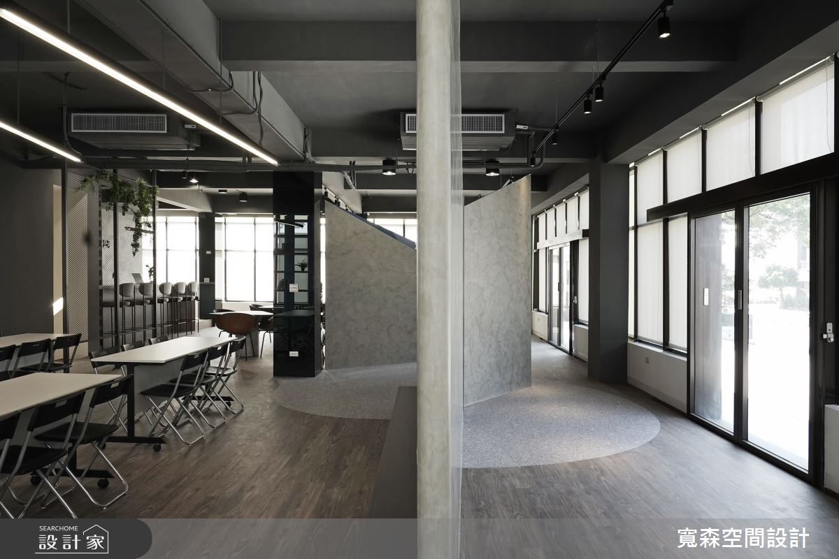 75坪老屋(16~30年)_工業風商業空間案例圖片_寬森空間設計有限公司_寬森_微灰調之10