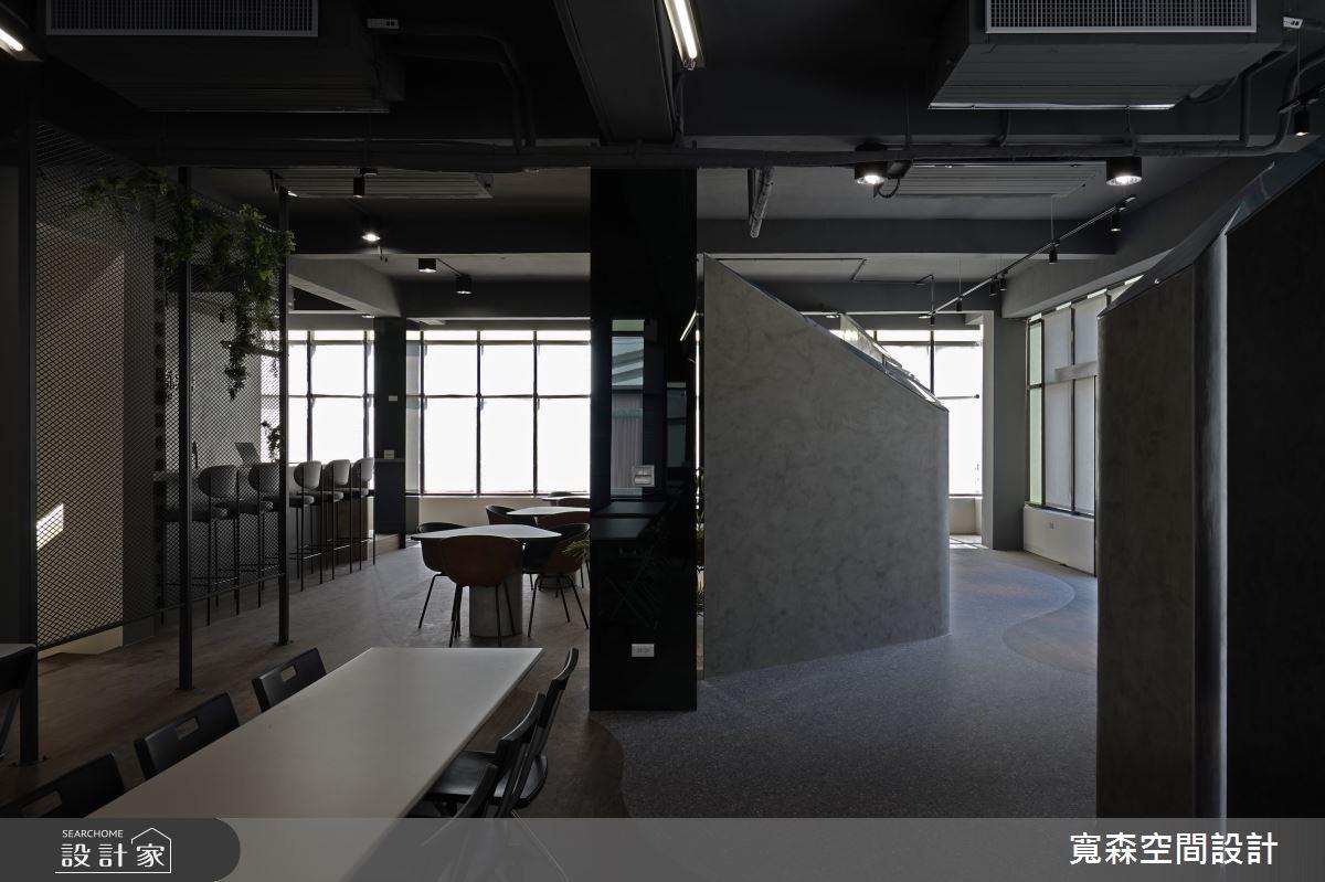 75坪老屋(16~30年)_工業風商業空間案例圖片_寬森空間設計有限公司_寬森_微灰調之12