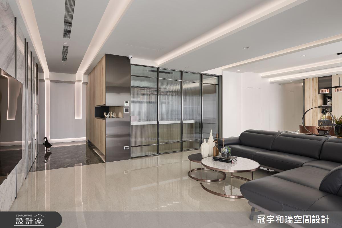 82坪新成屋(5年以下)_現代風客廳案例圖片_冠宇和瑞空間設計有限公司_冠宇和瑞_03之3