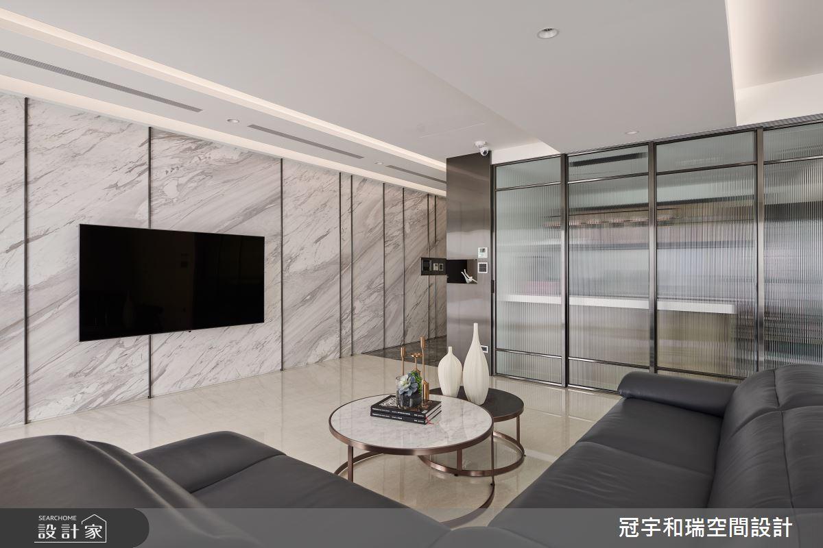 82坪新成屋(5年以下)_現代風客廳案例圖片_冠宇和瑞空間設計有限公司_冠宇和瑞_03之4