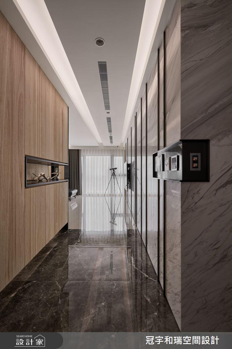 82坪新成屋(5年以下)_現代風玄關案例圖片_冠宇和瑞空間設計有限公司_冠宇和瑞_03之1