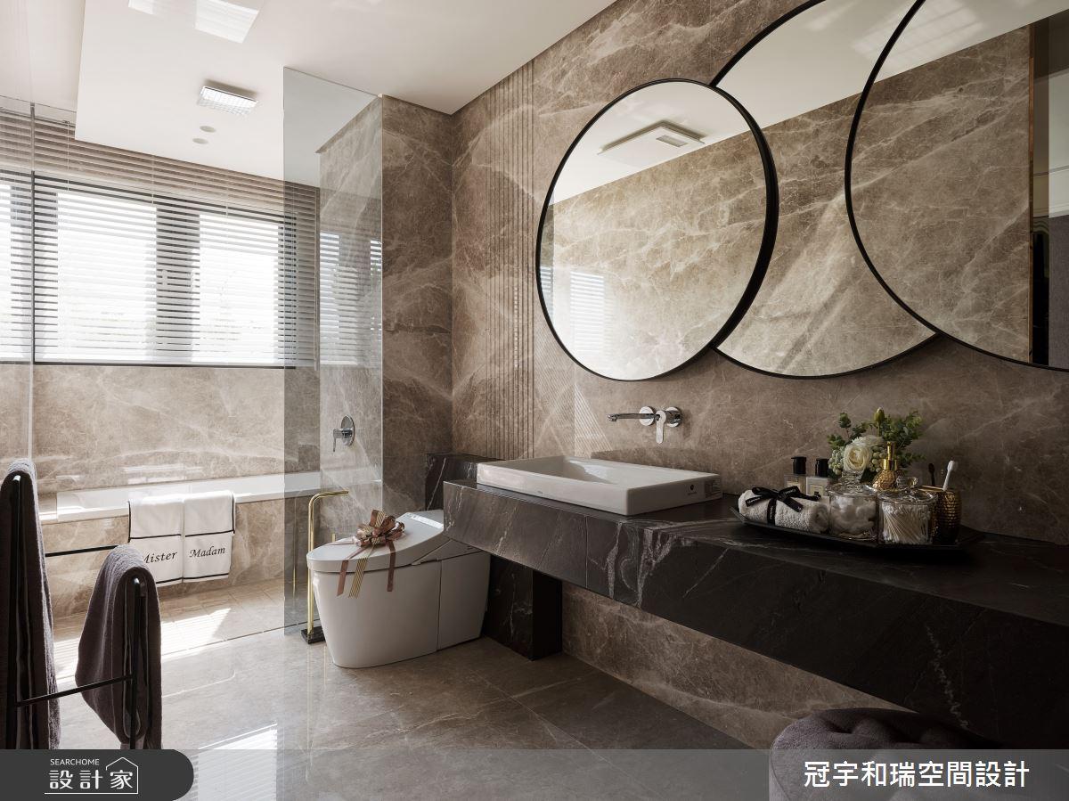 85坪預售屋_奢華風浴室案例圖片_冠宇和瑞空間設計有限公司_冠宇和瑞_04之18