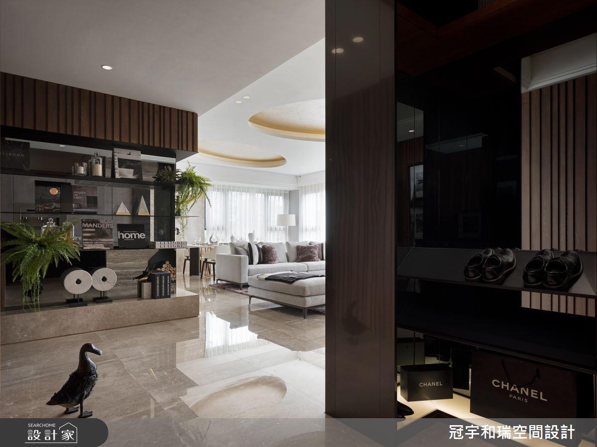 85坪預售屋_奢華風玄關案例圖片_冠宇和瑞空間設計有限公司_冠宇和瑞_04之1