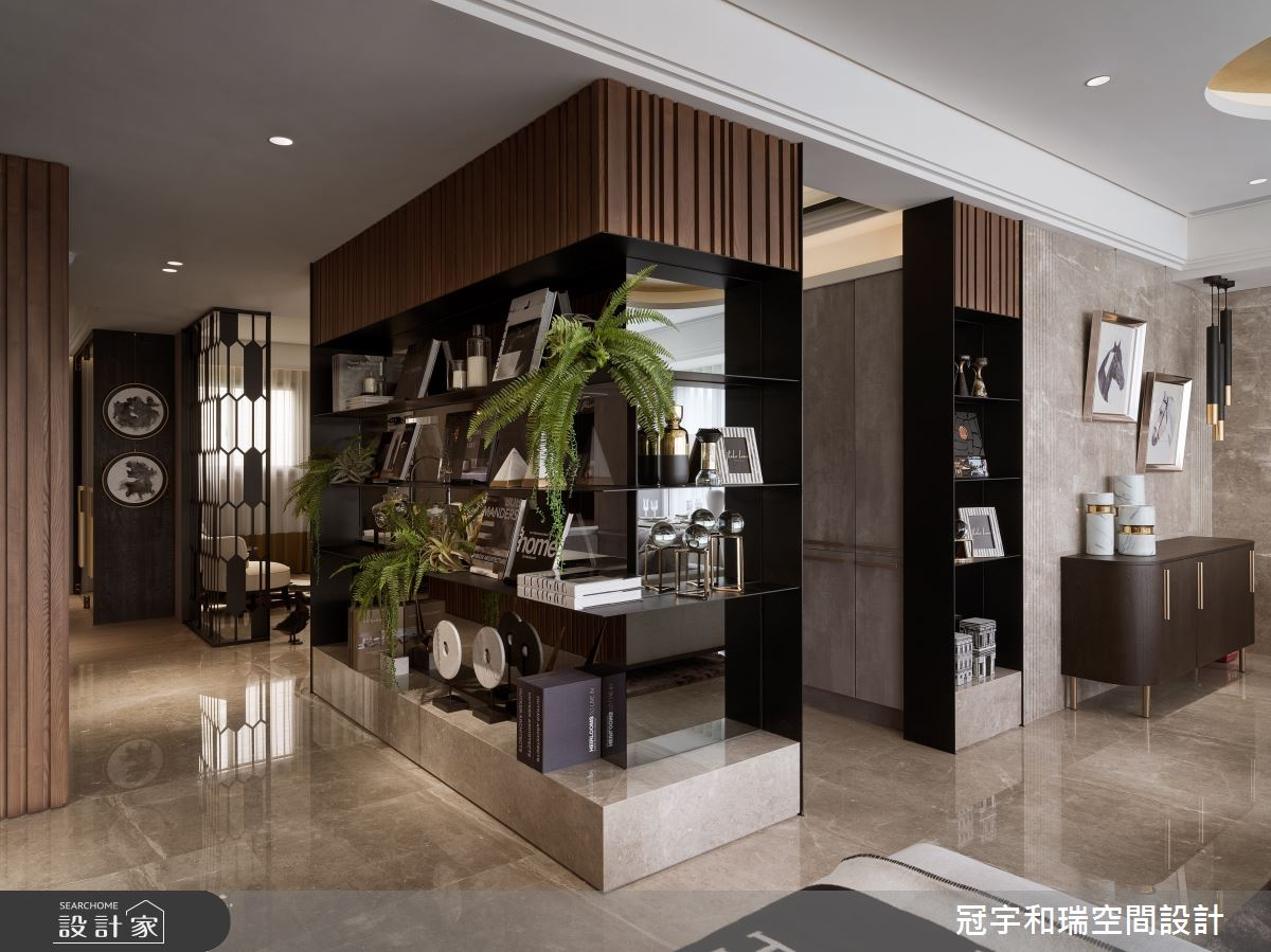 85坪預售屋_奢華風玄關案例圖片_冠宇和瑞空間設計有限公司_冠宇和瑞_04之2