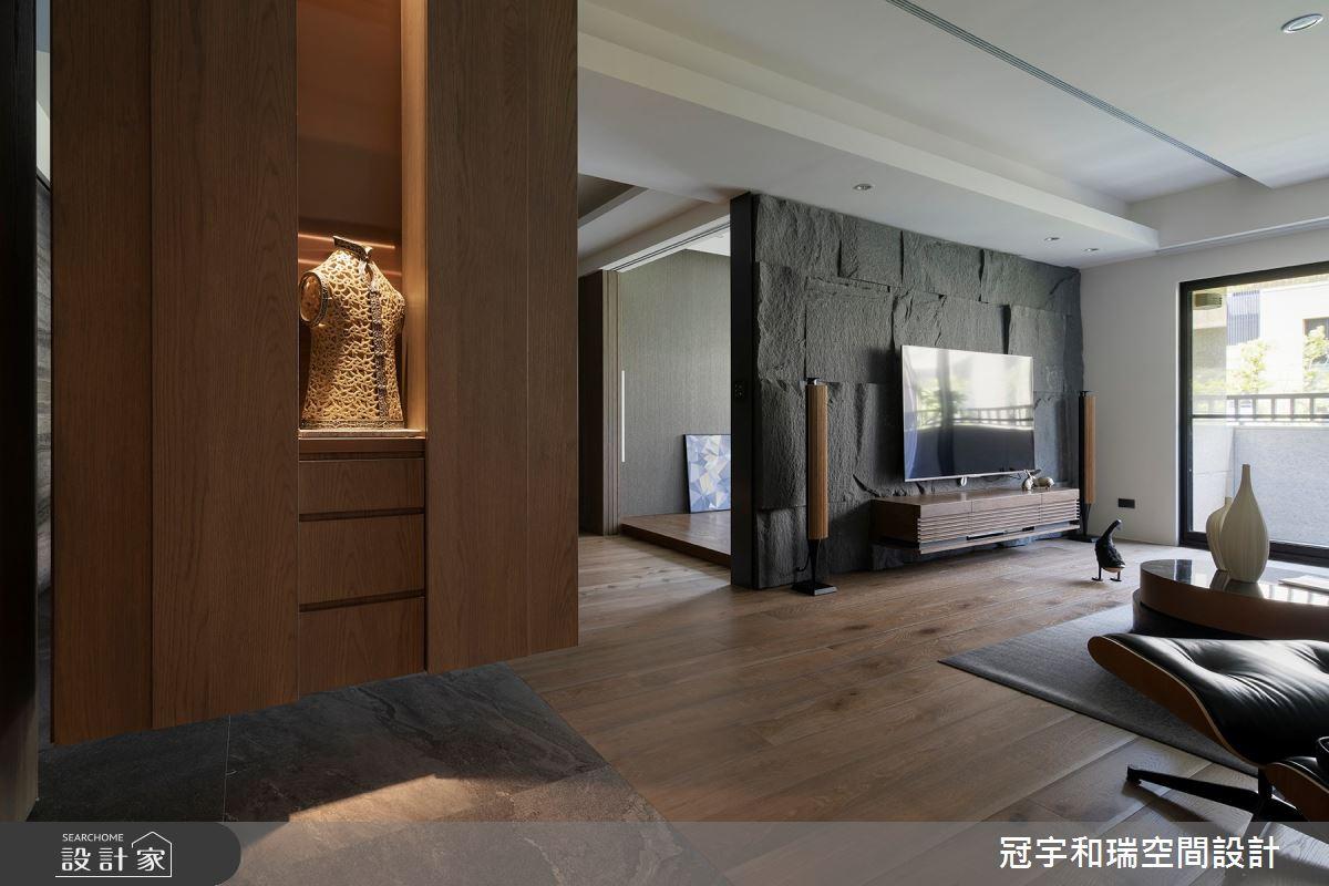 55坪新成屋(5年以下)_現代風客廳案例圖片_冠宇和瑞空間設計有限公司_冠宇和瑞_05之2
