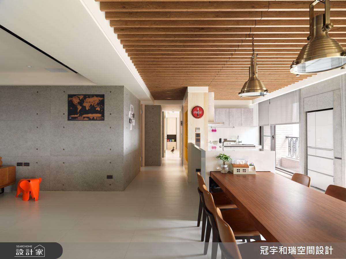 100坪新成屋(5年以下)_混搭風餐廳案例圖片_冠宇和瑞空間設計有限公司_冠宇和瑞_06之3