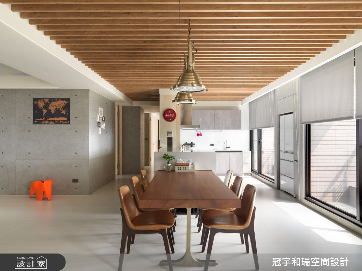 100坪新成屋(5年以下)_混搭風餐廳案例圖片_冠宇和瑞空間設計有限公司_冠宇和瑞_06之4