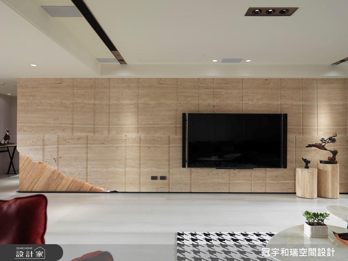 100坪新成屋(5年以下)_混搭風客廳案例圖片_冠宇和瑞空間設計有限公司_冠宇和瑞_07之4