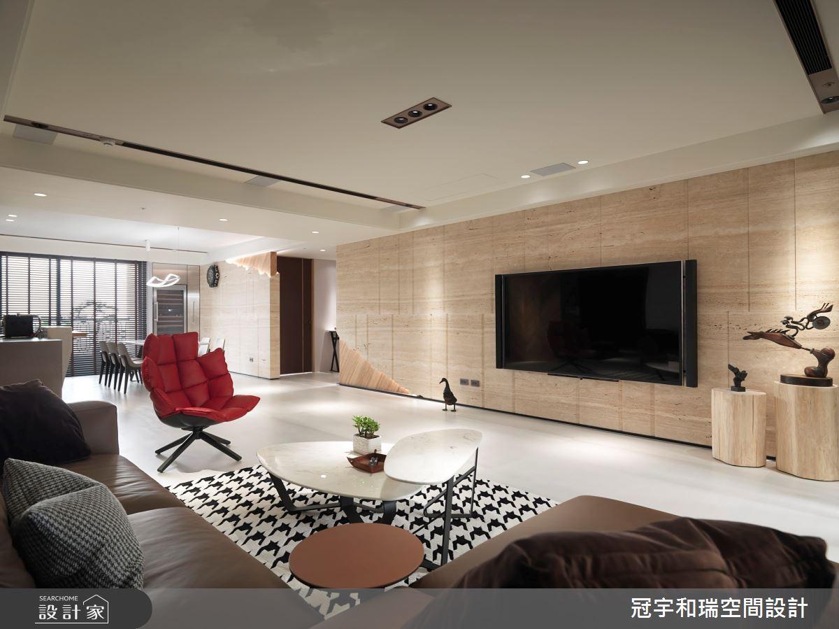 100坪新成屋(5年以下)_混搭風客廳案例圖片_冠宇和瑞空間設計有限公司_冠宇和瑞_07之3
