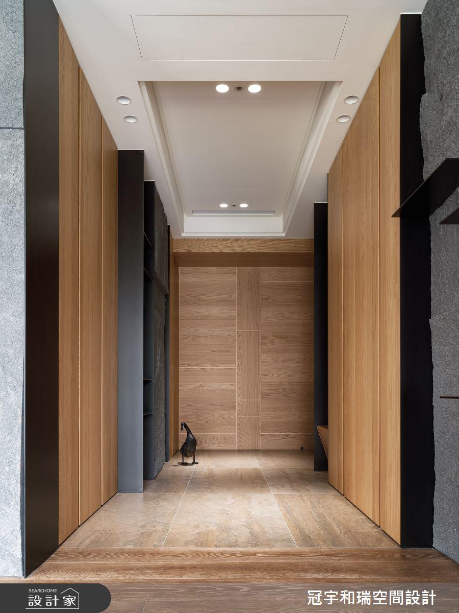 82坪預售屋_現代風玄關案例圖片_冠宇和瑞空間設計有限公司_冠宇和瑞_09之2