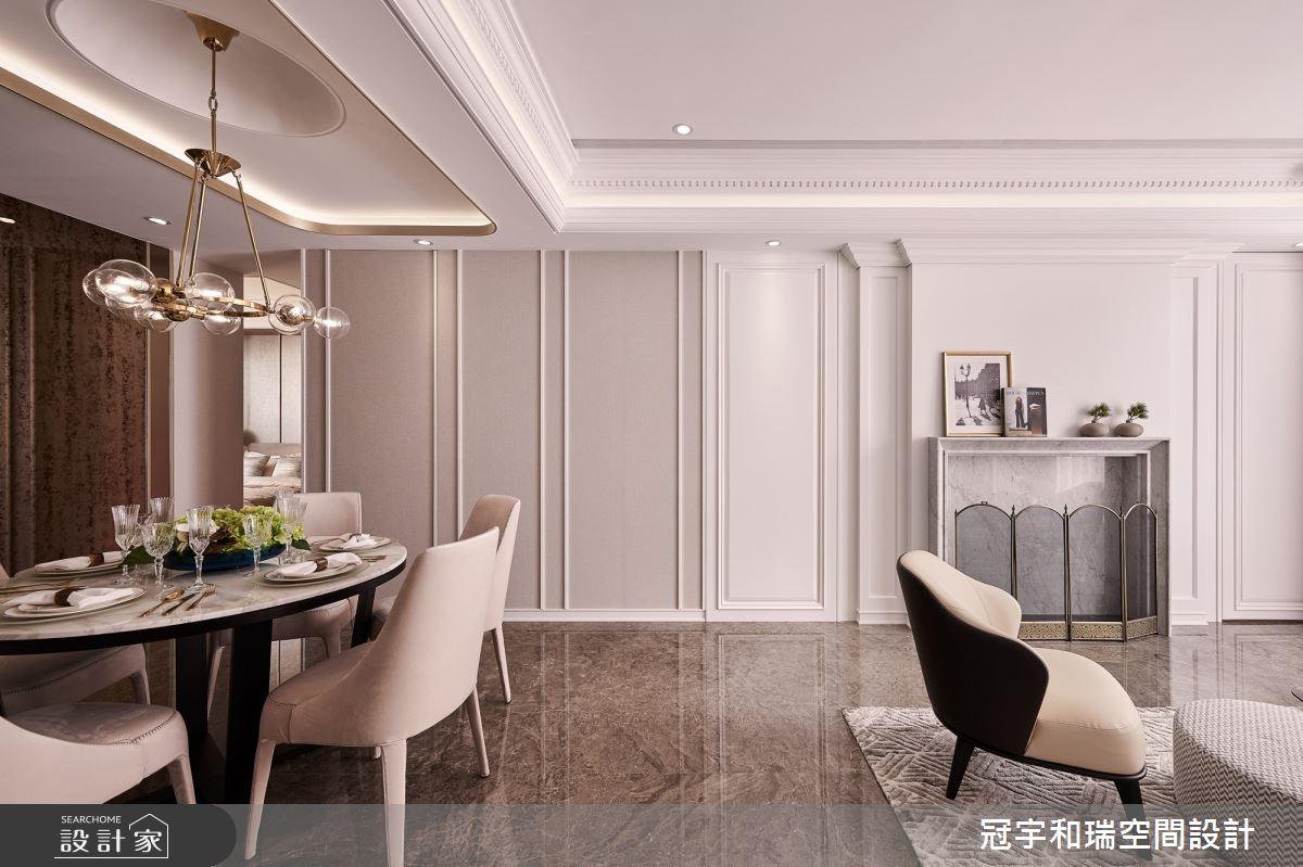 70坪新成屋(5年以下)_奢華風餐廳案例圖片_冠宇和瑞空間設計有限公司_冠宇和瑞_11之4