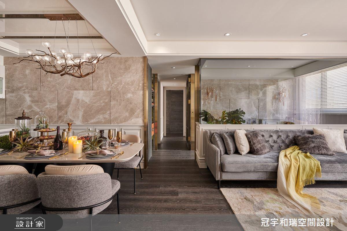 70坪新成屋(5年以下)_奢華風客廳案例圖片_冠宇和瑞空間設計有限公司_冠宇和瑞_12之3