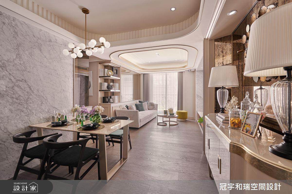 52坪預售屋_奢華風餐廳案例圖片_冠宇和瑞空間設計有限公司_冠宇和瑞_13之4