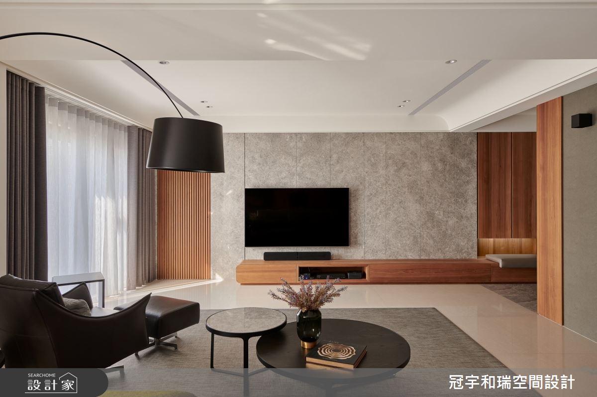 75坪新成屋(5年以下)_現代風客廳案例圖片_冠宇和瑞空間設計有限公司_冠宇和瑞_16之3