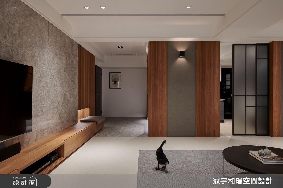 75坪新成屋(5年以下)_現代風客廳案例圖片_冠宇和瑞空間設計有限公司_冠宇和瑞_16之2