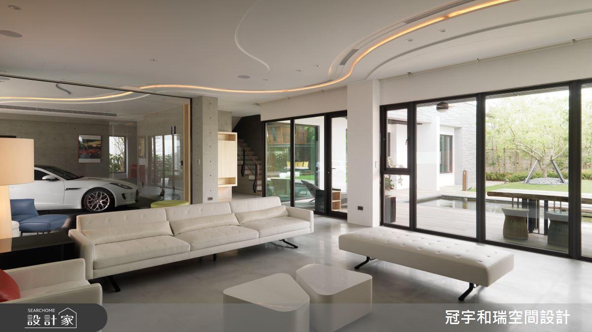 250坪預售屋_現代風客廳案例圖片_冠宇和瑞空間設計有限公司_冠宇和瑞_17之2
