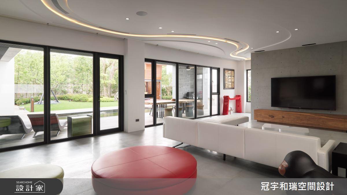 250坪預售屋_現代風客廳案例圖片_冠宇和瑞空間設計有限公司_冠宇和瑞_17之3