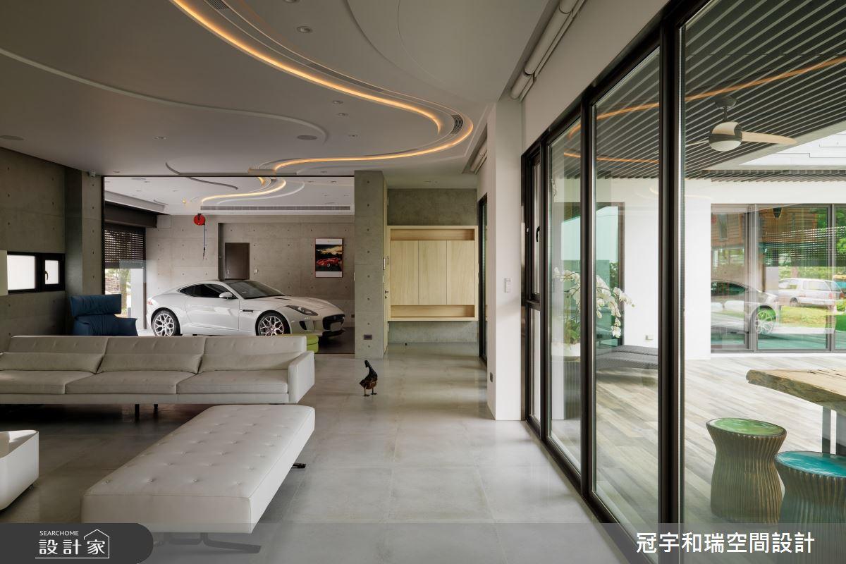 250坪預售屋_現代風客廳案例圖片_冠宇和瑞空間設計有限公司_冠宇和瑞_17之1