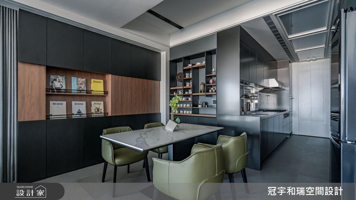 160坪新成屋(5年以下)_混搭風案例圖片_冠宇和瑞空間設計有限公司_冠宇和瑞_23之4