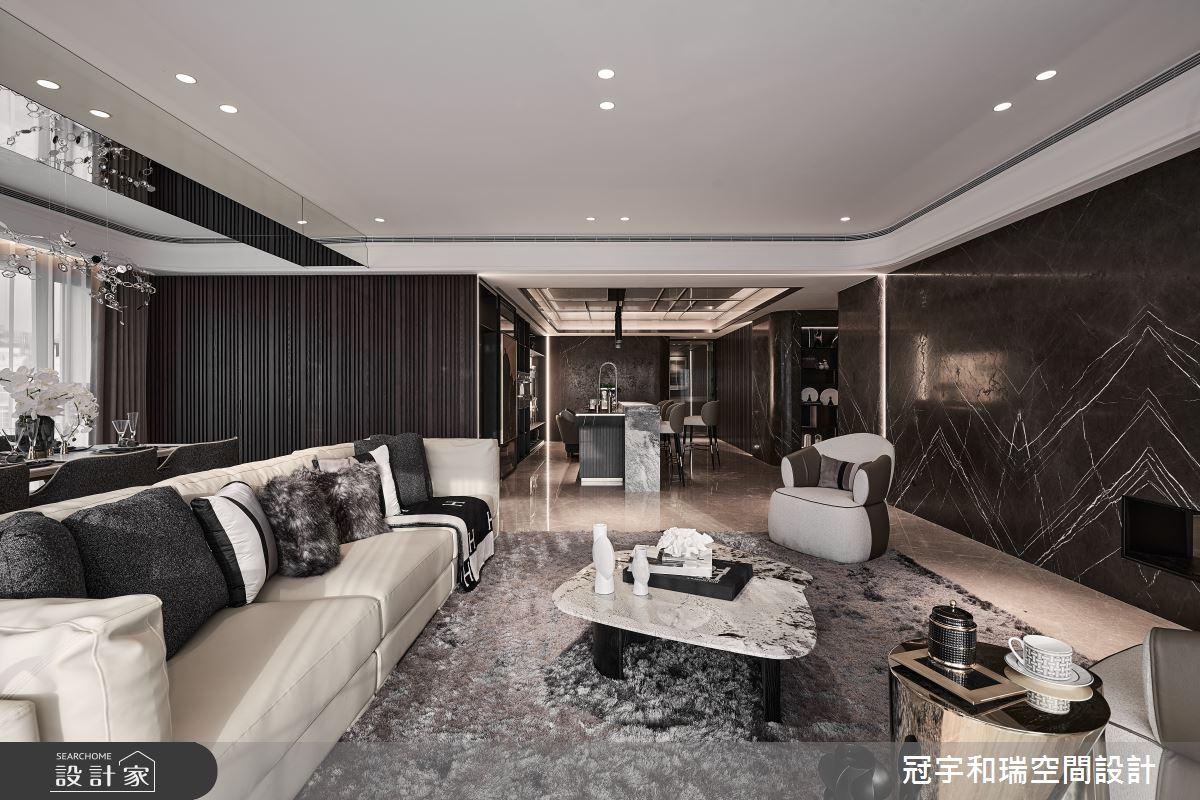 101坪預售屋_現代風客廳案例圖片_冠宇和瑞空間設計有限公司_冠宇和瑞_28之3