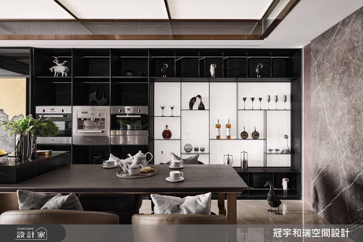101坪預售屋_現代風餐廳案例圖片_冠宇和瑞空間設計有限公司_冠宇和瑞_28之4