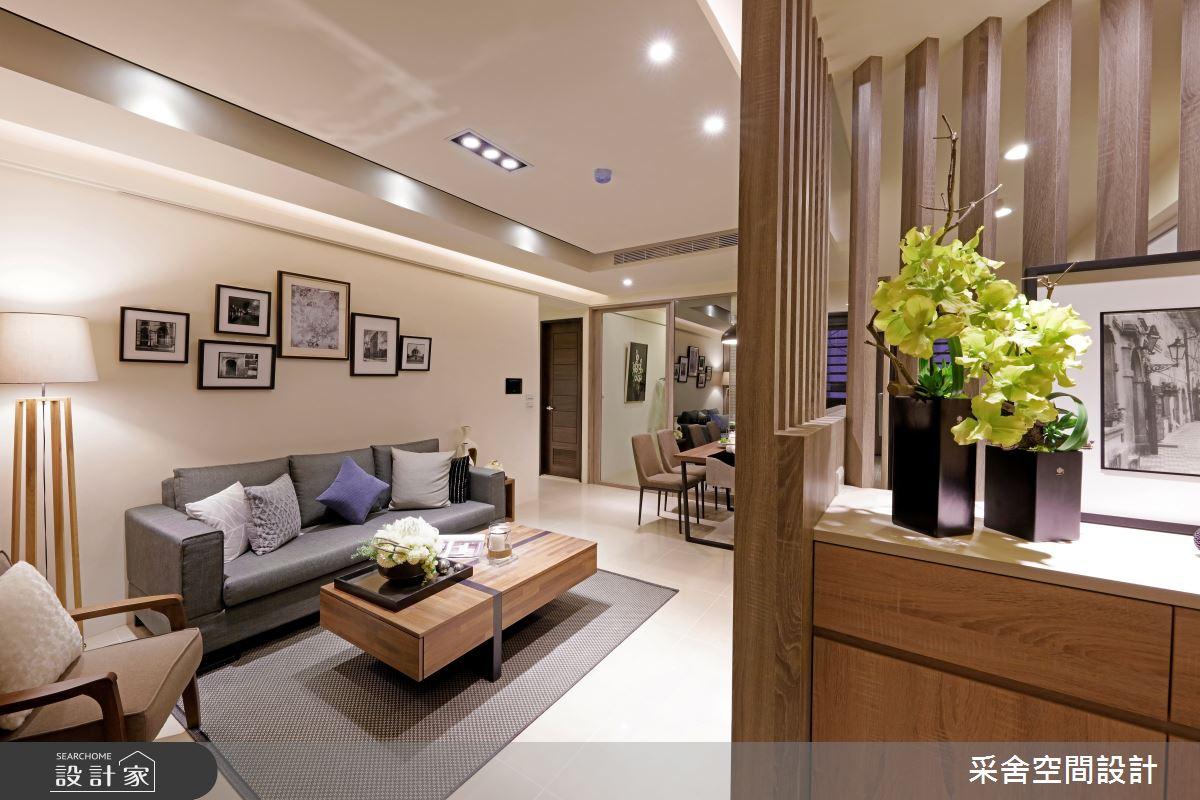 新成屋(5年以下)_北歐風客廳案例圖片_采舍空間設計_采舍_01之1