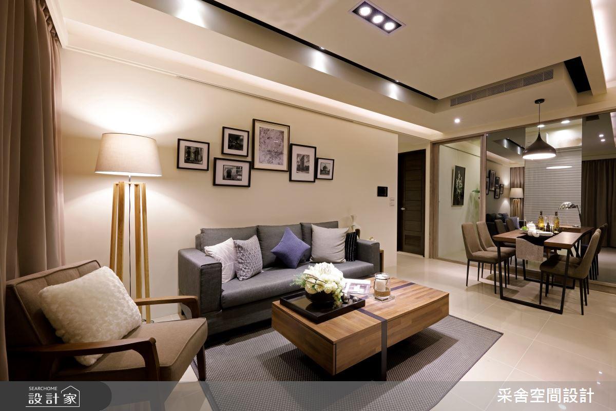新成屋(5年以下)_北歐風客廳案例圖片_采舍空間設計_采舍_01之2