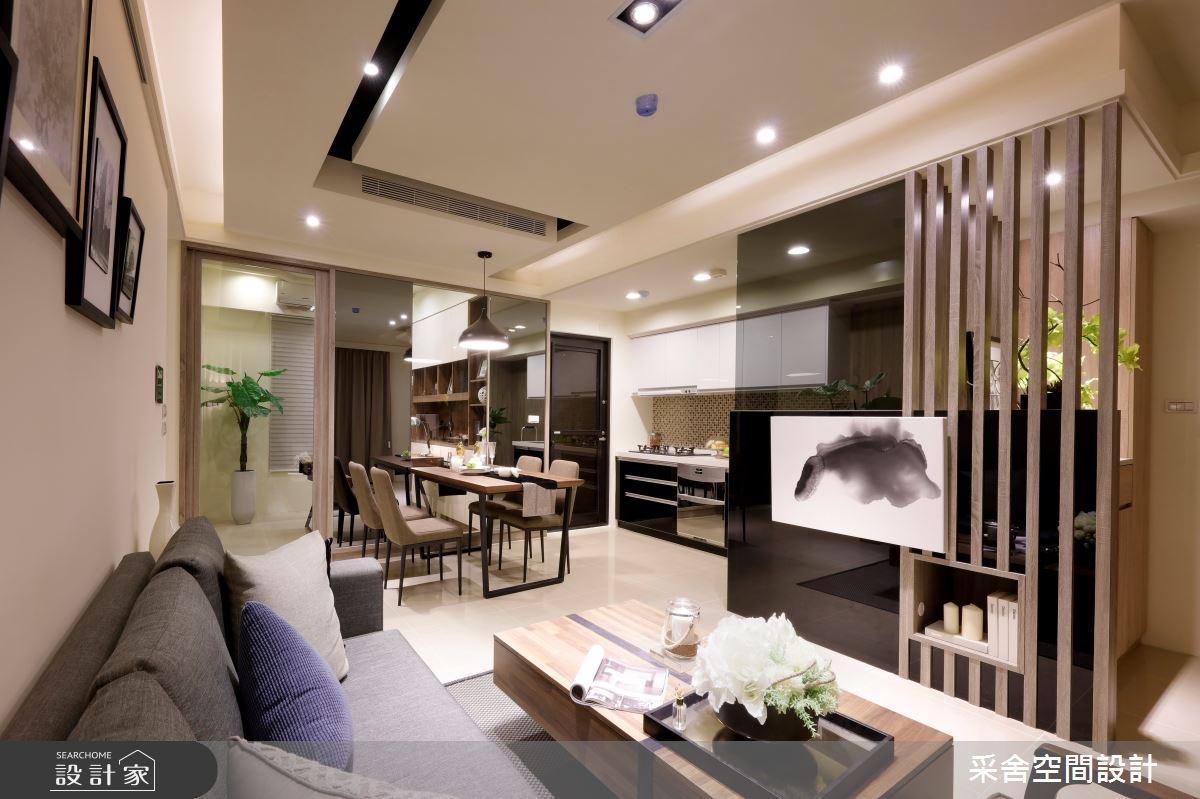 新成屋(5年以下)_北歐風客廳案例圖片_采舍空間設計_采舍_01之4
