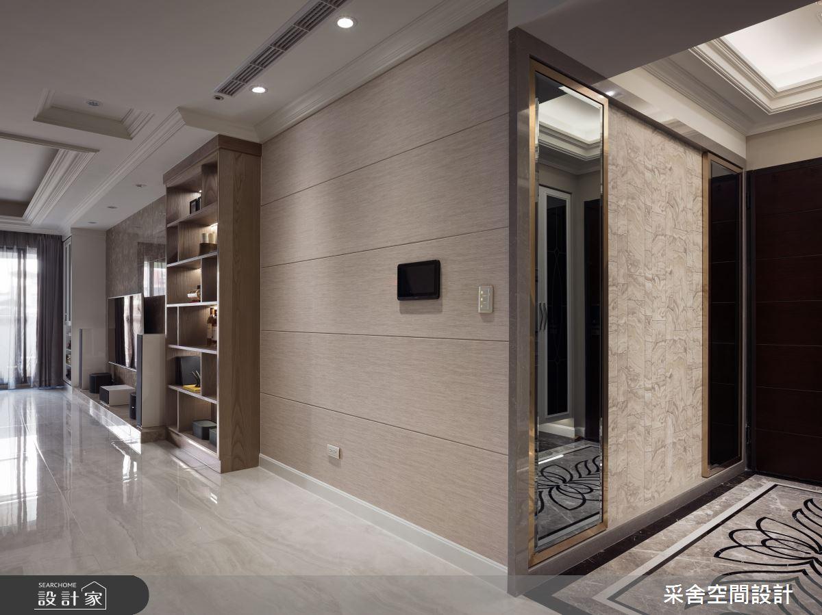 41坪預售屋_新古典玄關案例圖片_采舍空間設計_采舍_04之2