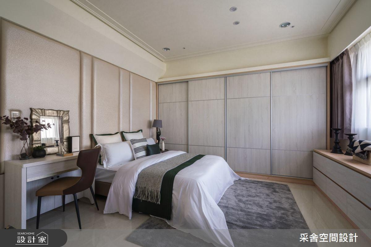 40坪新成屋(5年以下)_現代風臥室案例圖片_采舍空間設計_采舍_10之10