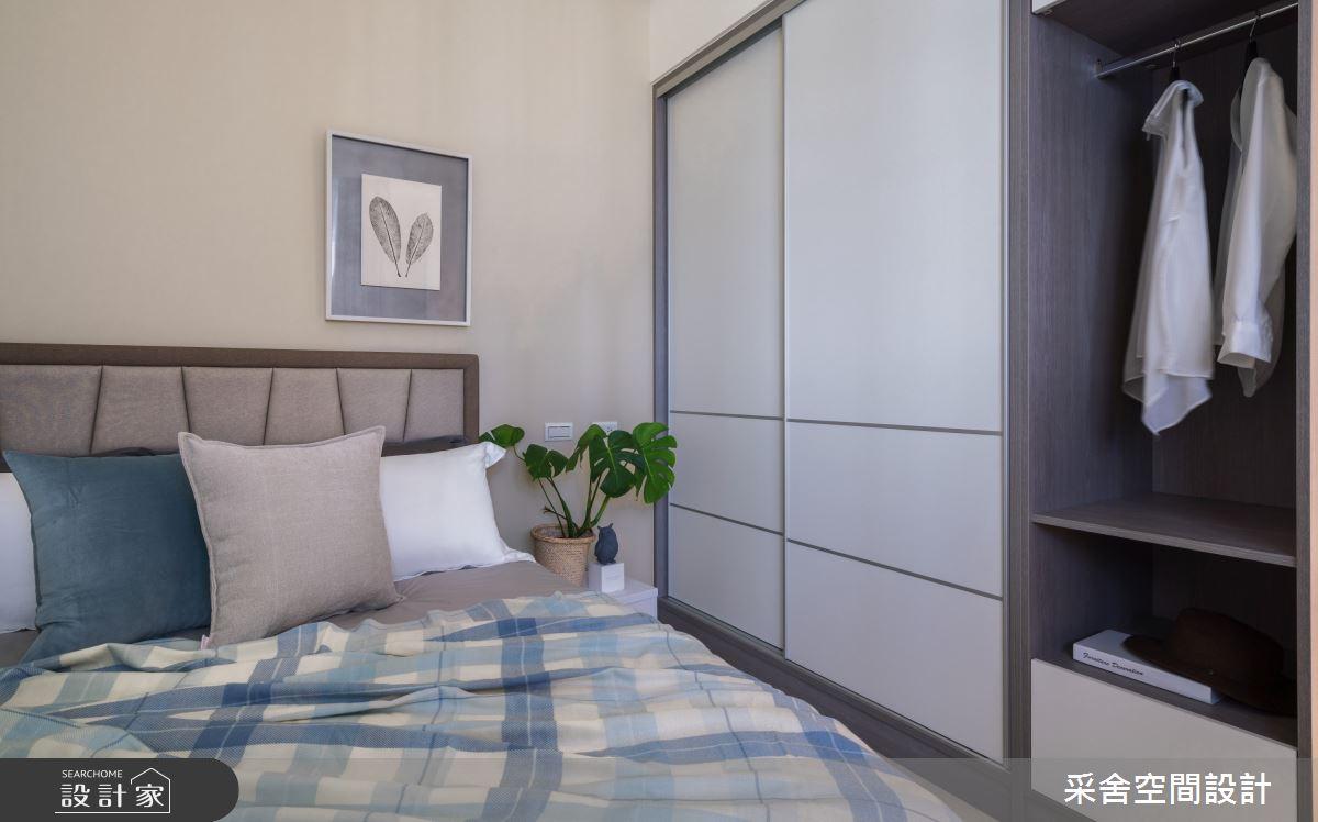 40坪新成屋(5年以下)_現代風臥室案例圖片_采舍空間設計_采舍_10之13