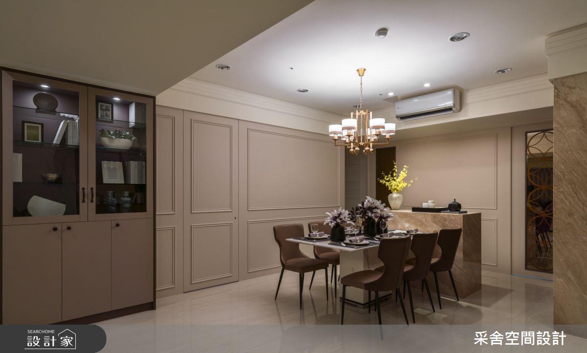 40坪新成屋(5年以下)_現代風餐廳案例圖片_采舍空間設計_采舍_10之2