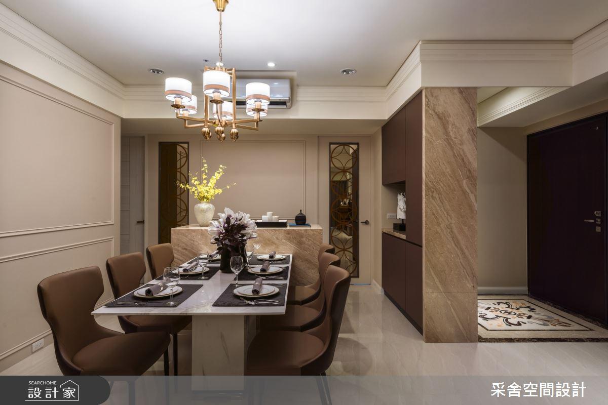 40坪新成屋(5年以下)_現代風餐廳案例圖片_采舍空間設計_采舍_10之3