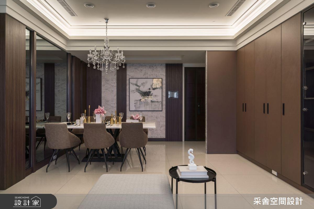 33坪新成屋(5年以下)_現代風餐廳案例圖片_采舍空間設計_采舍_11之5