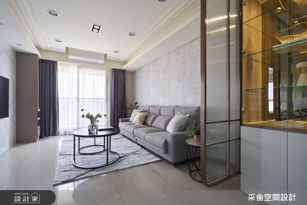 30坪新成屋(5年以下)_現代風案例圖片_采舍空間設計_采舍_15之3