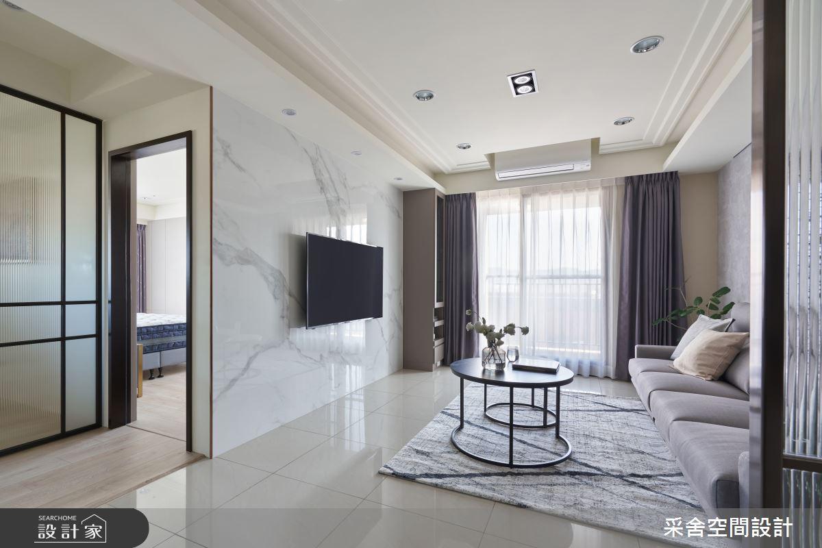 30坪新成屋(5年以下)_現代風案例圖片_采舍空間設計_采舍_15之12